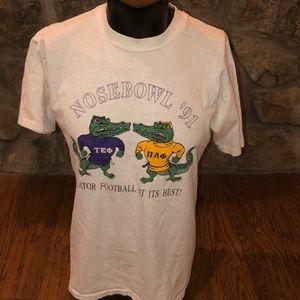 VTG 91 Univ of Florida Gators Frat T-shirt. XL